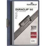 Durable Duraclip 60 Klemmappe, mørkeblå