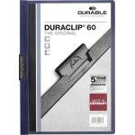 Durable Duraclip 60 Klemmappe, mellemblå