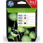 HP 903XL C/M/Y/K blækpatroner, blister, sampak