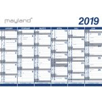 Mayland Kæmpekalender, 2x6 mdr., vinyl, rør