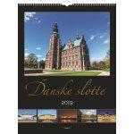 Vægkalender, 12 måneder, Danske slotte
