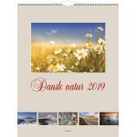 Mayland Vægkalender, 12 månedsblade, Dansk Natur