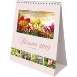 Mayland Bordkalender, 12 månedsblade, Blomster
