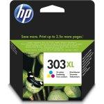 HP No303XL blækpatron, blister, farve, 10ml