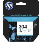 HP No304 blækpatron blister, farve, 100s