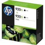 HP No920XL blækpatron 2-pak, sort, 1.200s