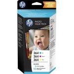HP No364 blækpatron sampak + fotopapir