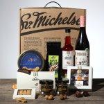 Sv. Michelsen købmandspakke med vin
