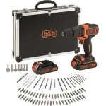 Black & Decker boremaskinesæt 18V - 2 batterier