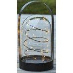 Arthur lanterne, Sort, H 28,5 cm, 16 LED lys