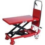 Mobilt løftebord med fodpumpe, 500 kg, 300-880 mm