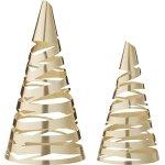 Stelton Tangle Juletræer, Mellem/Stor, Messing