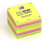 Oxford Sticky Notes 75x75 mm, ass. farver