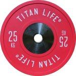 TITAN LIFE Elite bumper plate, 25 kg