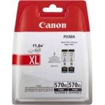 Canon PGI-570XL blækpatroner 2-pak, blister, sort