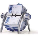Durable Visifix Flip Vegas Visitkortkartotek, sølv