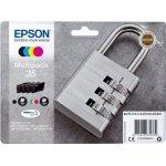 Epson T3586 blækpatroner multipak BCMY, m/alarm