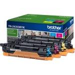 Brother TN243CMYK lasertoner sampak K/C/M/Y, 4000s