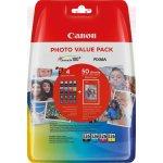 Canon CLI-526 blækpatroner+fotopapir BCMY, blister