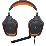 Logitech G231 Prodigy headset, Sort/Orange