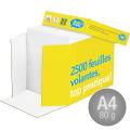 DataCopy Kopipapir A4/80g/2500ark Nonstopbox
