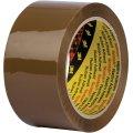 3M Scotch Pakketape 50 mm, akryl, low noise, brun