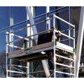 Rullestillads 135x245 inkl trapper - Højde 4,21 m