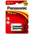 Panasonic str. 9V Pro Power Gold batteri, 1stk