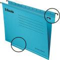 Esselte Standard hængemapper folio, blå