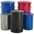 RETRO affaldsbeholder 30 l, fodpedal, galvanisere