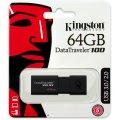 Kingston DataTraveler 100 G3 USB-nøgle 64GB