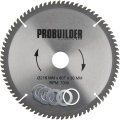 Probuilder klinge, 216x30x2 mm, t80