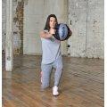 Reebok Double-Grip Medicinbold, 7 kg, Grå