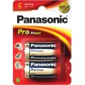 Panasonic Pro Power Gold Alkaline batteri, C, 2stk