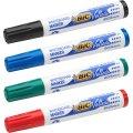 Bic whiteboardmarkersæt 4 farver, 3-5,8mm