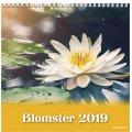 Mayland Vægkalender, 12 måneder, Blomster