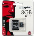 Kingston MicroSDHC hukom. kort, 8GB