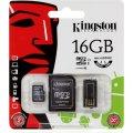 Kingston MicroSDXC Mobility Kit, hukom. kort, 16GB