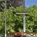 HORTUS Terrassevarmer væg/loftmontering, 1500 W