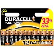 Duracell Plus Power AA-batterier, 12 stk.