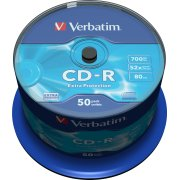 Verbatim CD-R 700mb/80min spindel, 50stk