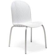 Scudo cafestol hvid/aluminium