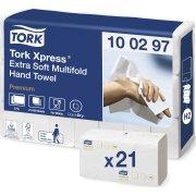 Tork Premium H2, ekstra soft, 4-foldet