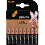 Duracell Plus Power AAA batteripakke, 16 stk.