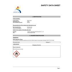 Safety Data Sheet (english)