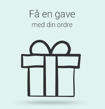 Få en gave med din ordre