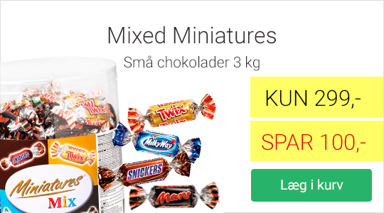 Tilbud på Mixed Miniatures chokolade