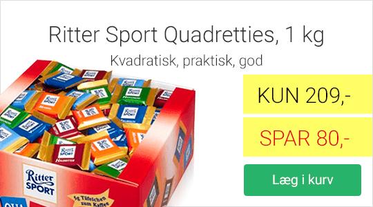 Tilbud på Rittersport Quadriettes