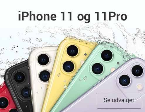 Apple iPhone 11 og 11Pro