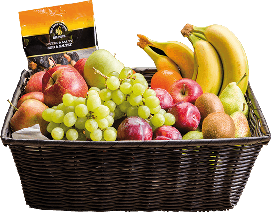 Luksus frugtkurv